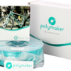 PolyLite ABS Teal 175 Spool Picture Whole Package 1 1