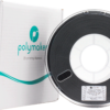 PolyLite ASA Black 175 Spool Picture With Packaging
