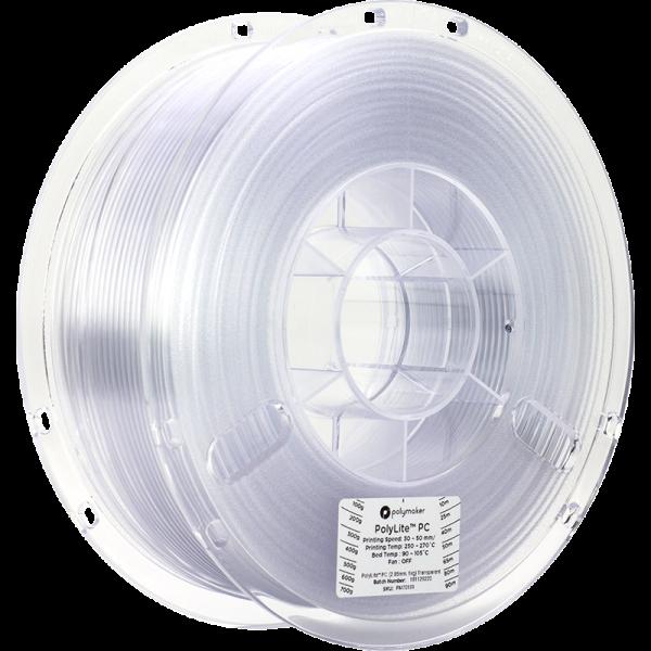 PolyLite PC Transparent 285 Spool Picture Asymmetric