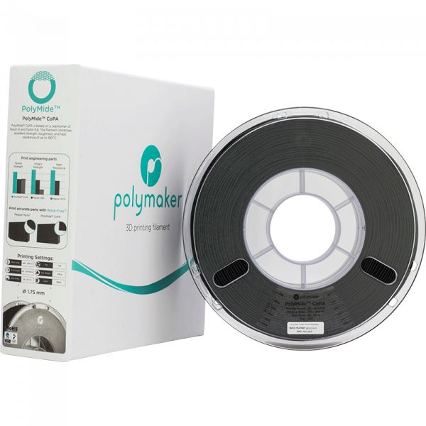 PolyMide CoPA Black 175 Spool Picture With Packaging