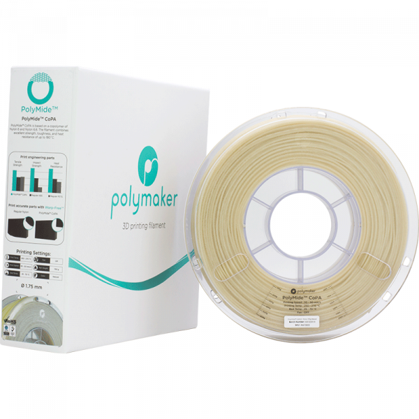 PolyMide CoPA Natural 175 Spool Picture With Packaging
