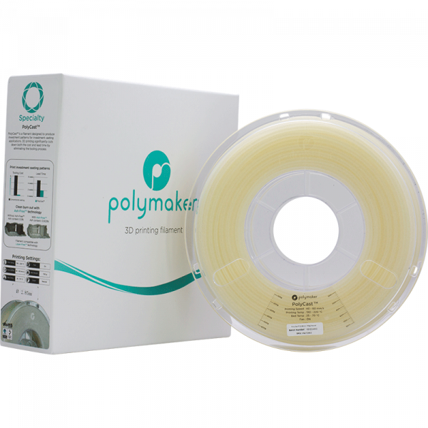 Specialty PolyCast Natural 285 Spool Picture With Packaging