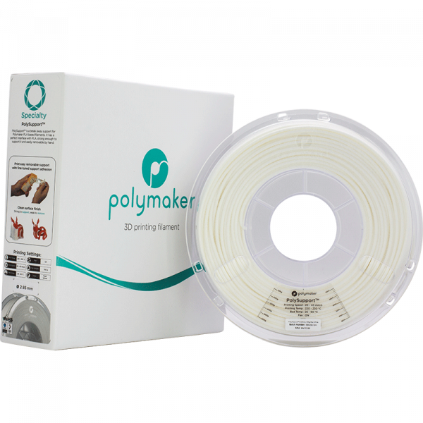 Specialty PolySupport Pearl White 285 Spool Picture With Packaging