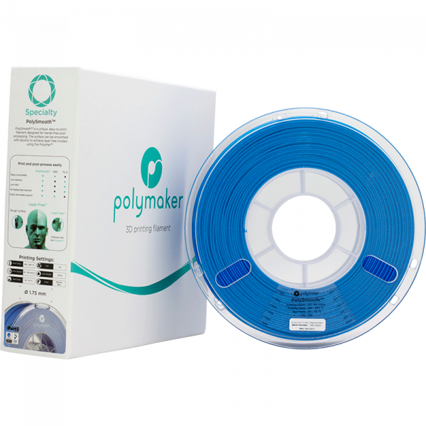 Speciaty PolySmooth Electric Blue 175 Spool Picture With Packaging
