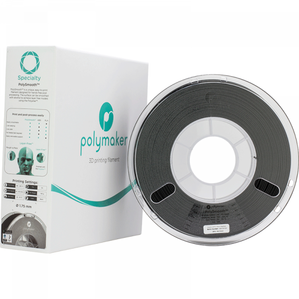 Speciaty PolySmooth Jet Black 175 Spool Picture With Packaging