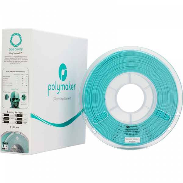 Speciaty PolySmooth Teal 175 Spool Picture With Packaging