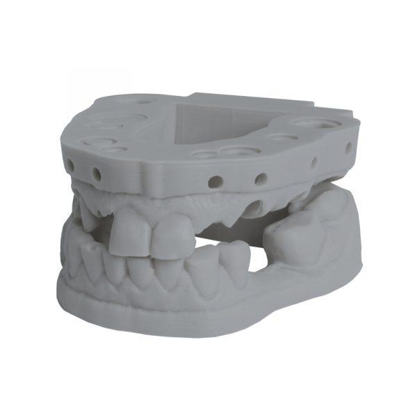 DruckWege Type D Dental Standard Aschgrau