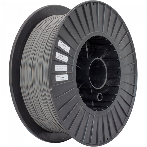 PolyMide PA6 GF Grey 175 Spool Picture Astmmetric