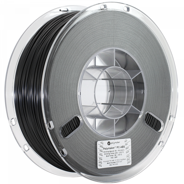 Polymaker PC ABS Black 175 Spool Picture Asymmetric