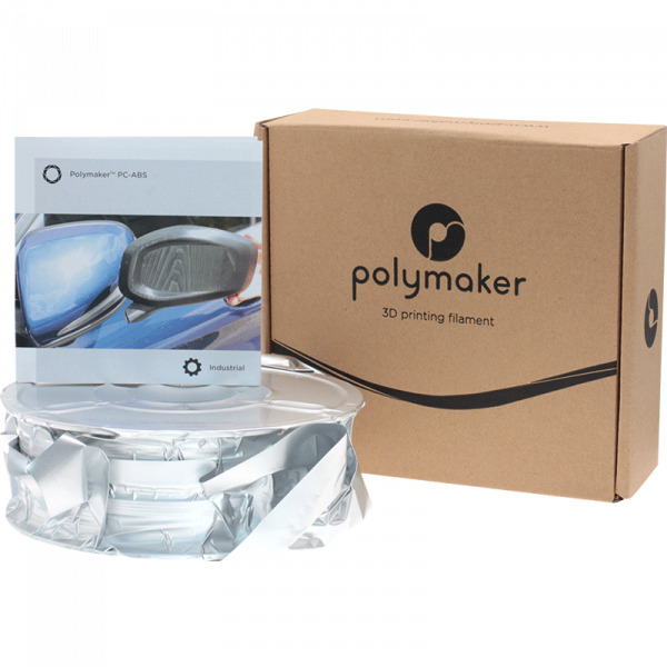 Polymaker PC ABS White 175 Spool Picture Whole Package