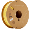 PolyTerra PLA Banana 175 Spool Picture Asymmetric