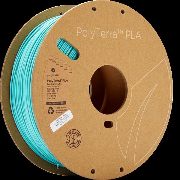 PolyTerra PLA Teal 175 Spool Picture Asymmetric