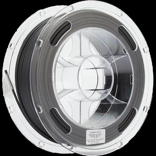 PolyMide PA6 CF Black 285 Spool Picture Asymmetric
